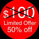 premium cartoon dog discount badge